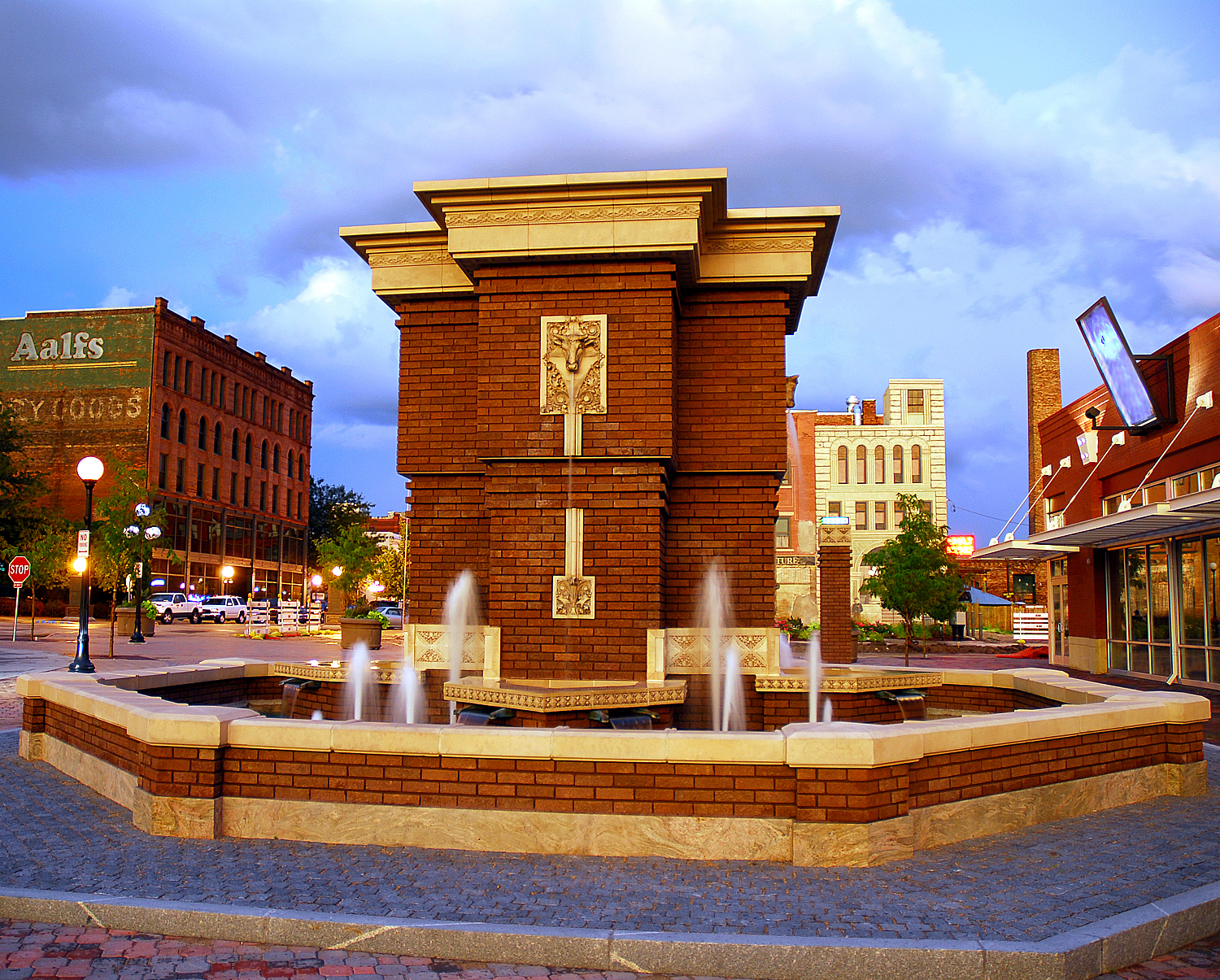 4th Street Fountain Sioux City
